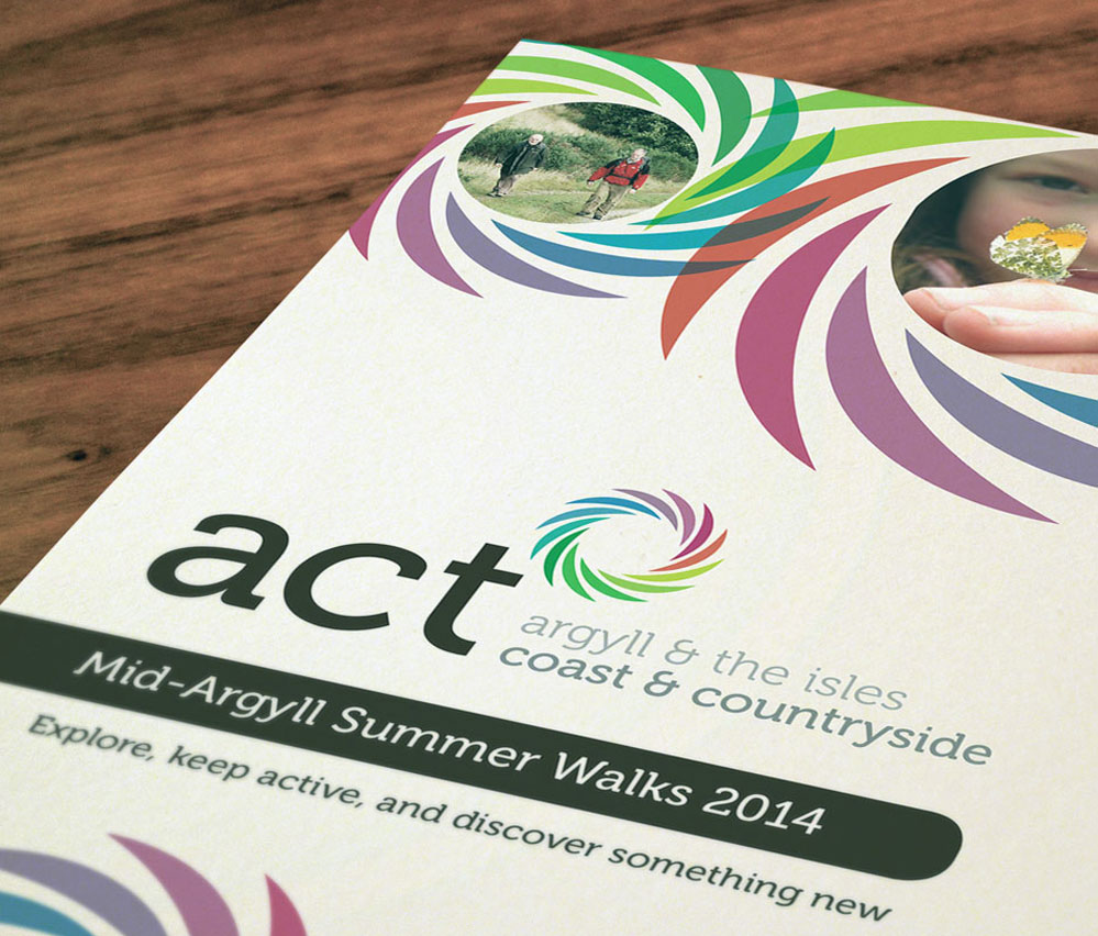 act now brochure cover