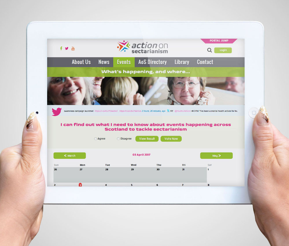 Action on Sectarianism IPAD