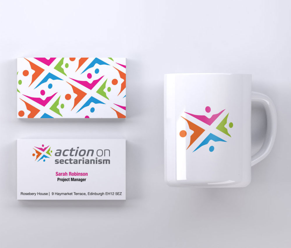 Action on Sectarianism branding