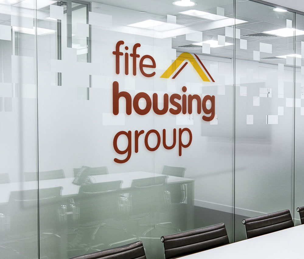 Fife Housing Group Signage