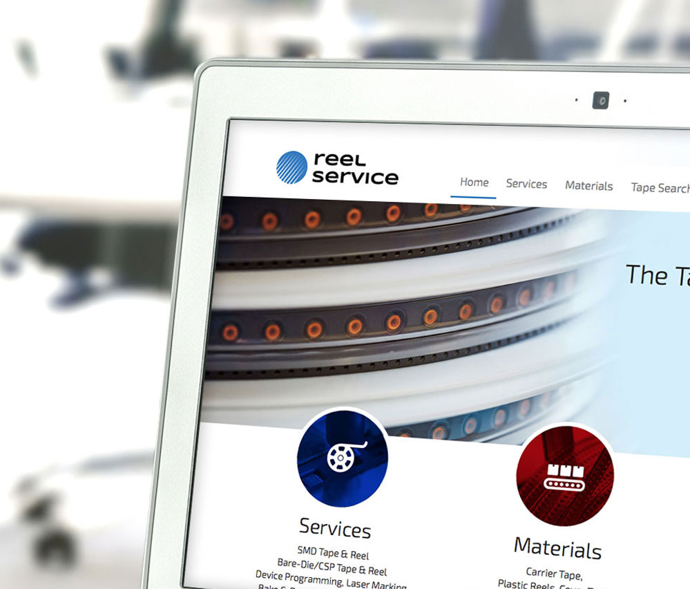 Reel Service Desktop Site