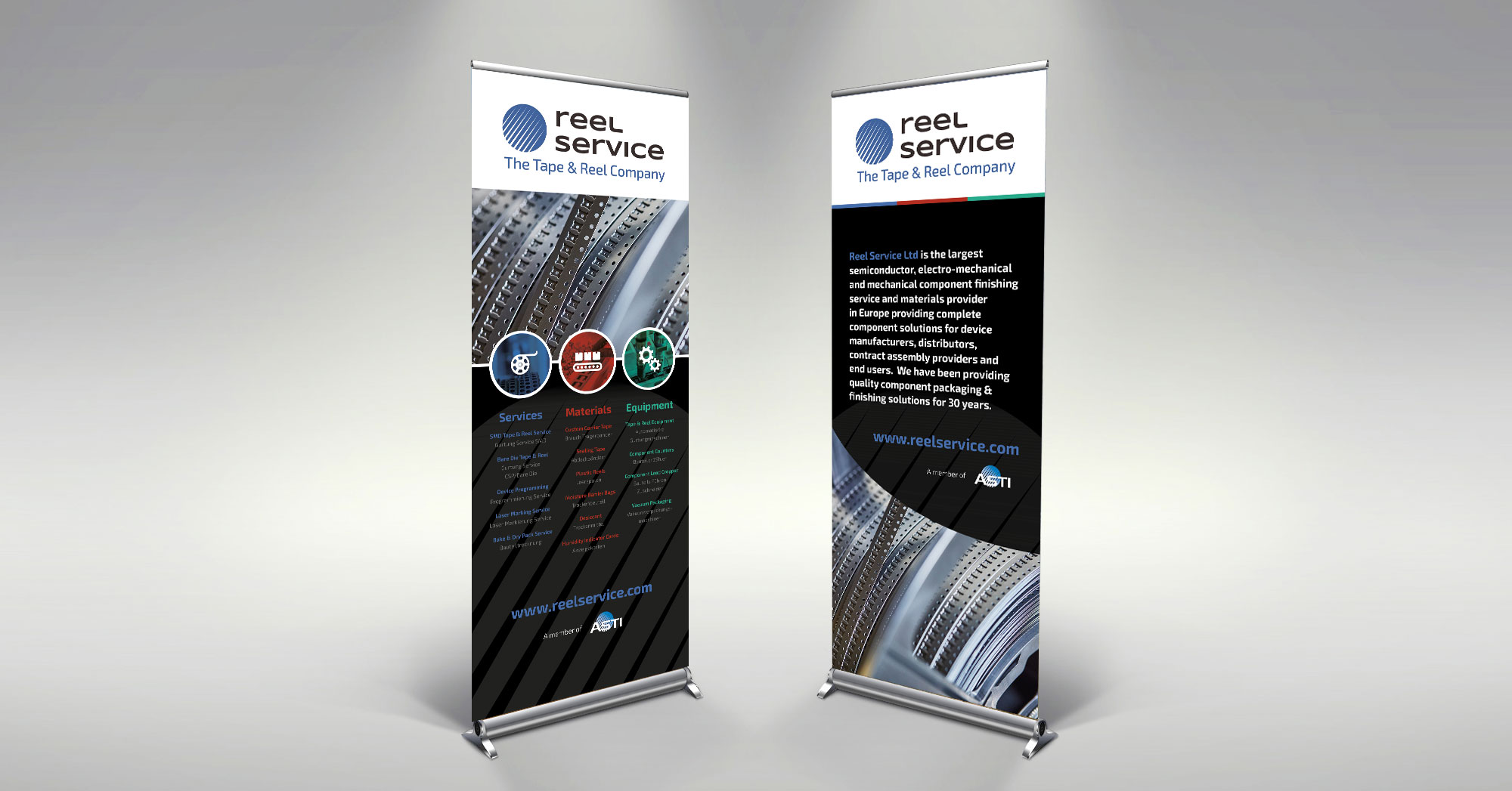 Reel Service Banners