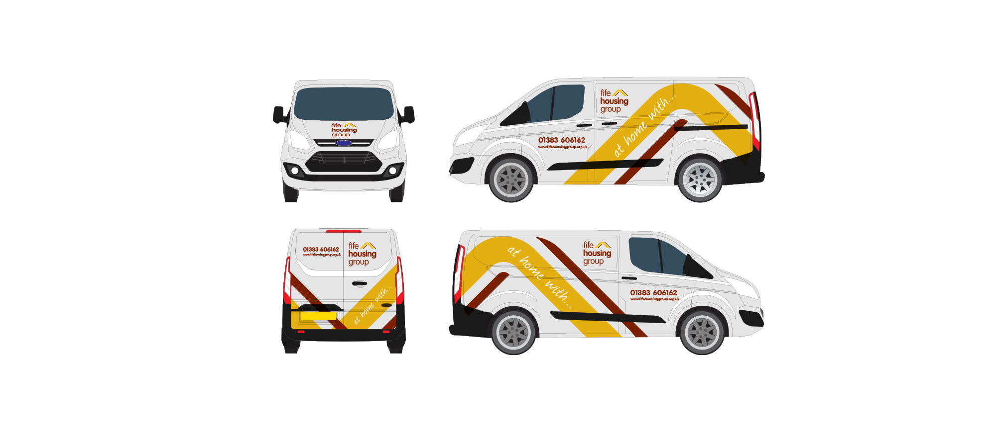 Vehicle Livery Fife Housing Group